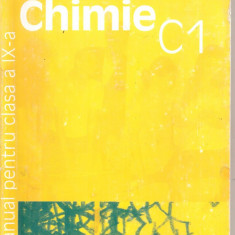 (C5348) CHIMIE C1 DE LUMINITA URSEA, MANUAL PENTRU CLASA A IX-A, EDITURA HUMANITAS EDUCATIONAL, 2002 - Carte Chimie