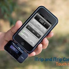La cutie Griffin iTrip APP Controller pentru iPhone / iPod sigilat 12 luni gar. - Car kit Griffin, iPhone 4/4S