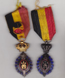 bnk md Belgia - Medalia Muncii - Cls 1 si 2