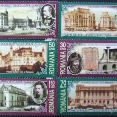 ROMANIA 2007 - VECHIUL BUCURESTI 6 VALORI, NEOBLITERATE - RO 0086