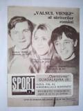 Revista SPORT Nr. 6 / 1970 Articol : Rugbistii timisoreni aspira la un loc pe podium