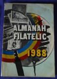 Almanah filatelic 1988, (colectie, nostalgici)