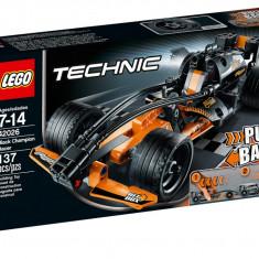 Lego 42026 Black Champion Racer Technic Masina neagra de curse, Nou, Sigilat - LEGO Technic, 6-10 ani