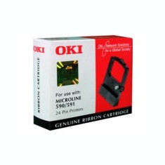 Ribon OKI ML Microline 590 / 591 nou original - Riboane imprimanta HP