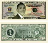 USA 2009 Dollars Obama Inaugurare UNC