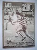 Revista SPORT Nr. 23 / 1970 Articol : Legenda Rapidului