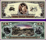 USA 25 Dollars Vestul Salbatic UNC