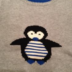 Pulovar bluza copii 104/110 cm, 4-5 ani, marca BONPRIX, Culoare: Gri, Gri, Unisex