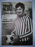 Revista SPORT Nr. 3 / 1971 Articol : Ion Tiriac si Ilie Nastase BOX