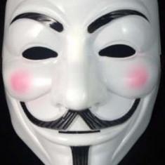 Masca Guy Fawkes / V for Vendetta - Anonymous material plastic