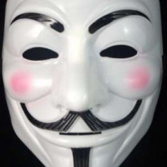 Masca Guy Fawkes / V for Vendetta - Anonymous material plastic
