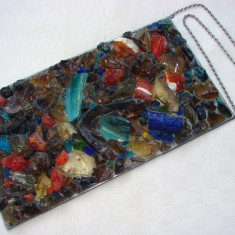 Impresionant obiect decorativ din sticla - Arta din Sticla