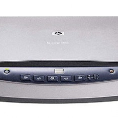 Scanner HP Scanjet 4500C C9910A cu carcasa ingalbenita, fara alimentator, fara cabluri