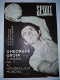 Revista SPORT Nr. 2 / 1970 Articol : rugby - U Timisoara BOX