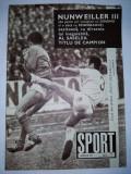 Revista SPORT Nr. 7 / 1971 Articol : CFR Cluj un loc sub soare BOX
