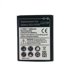 Acumulator baterie 2300mAh Samsung Galaxy S3 i9300 + folie ecran cadou, Li-ion