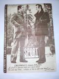 Revista SPORT Nr. 1 / 1974 Articol : Ilie Nastase - BOX