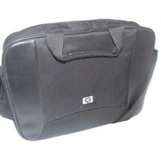 Geanta laptop HP 14-17 inch, Geanta de umar, Nailon, Negru
