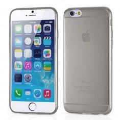 "Husa silicon gri subtire Iphone 6 4,7"" + folie protectie ecran + expediere gratuita Posta"