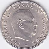 Moneda Danemarca 5 Kroner 1968 - KM#853.1 XF+/ aUNC, Europa