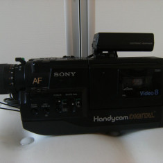Deosebita camera video Sony, made in Japan, stare foarte buna, de colectie/decor.