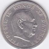 Moneda Danemarca 5 Kroner 1960 - KM#853.1 XF, Europa
