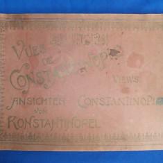 CONSTANTINOPOLE * ALBUM FOTOGRAFIC ( IN GERMANA,FRANCEZA,ENGLEZA ) - EDITOR JACQUES LUDWIGSOHN - CONSTANTINOPOLE ~ 1910
