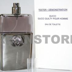 Parfum Tester Gucci Guilty + LIVRARE GRATUITA! - Parfum barbati Gucci, Apa de toaleta, 90 ml, Lemnos oriental