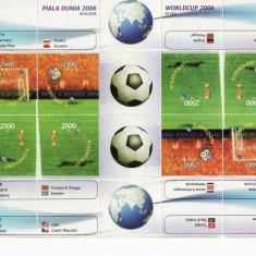 INDONESIA 2006 FOTBAL CUPA MONDIALA - Timbre straine
