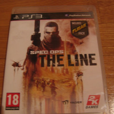 JOC PS3 SPEC OPS THE LINE ORIGINAL / STOC REAL in Bucuresti / by DARK WADDER - Jocuri PS3 Altele, Actiune, 18+, Single player