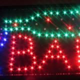 "Reclama luminoasa LED ""BAR"" + animatie"