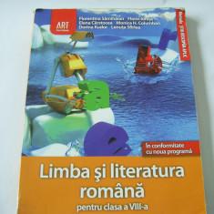 LIMBA SI LITERATURA ROMANA PENTRU  CLASA A VIII A EDITURA ART GRUP ., Clasa 8, Alta editura