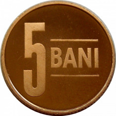 5 BANI 2009 UNC PROOF EMISIUNE SPECIALA 1.000 EXEMPLARE