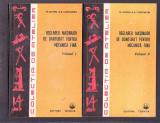 REGLAREA MASINILOR DE DANTURAT PENTRU MECANICA FINA VOL 1 SI 2