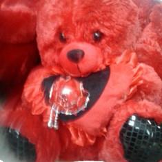 Ursuleti de plus rosu 33cm(black friday) - Jucarii plus