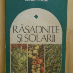 Rasadnite si solarii - Carti Agronomie