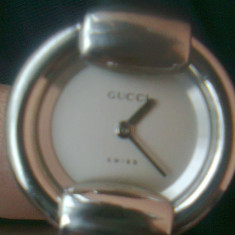 Ceas de dama gucci 1400 L - Ceas dama Gucci, Elegant, Quartz, Inox, Analog, Diametru carcasa: 25