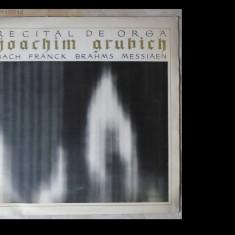 Recital de orga Joachim Grubich-orga catedralei din Gdansk, disc vinil/vinyl Electrecord, ECE 0275 - Muzica Clasica