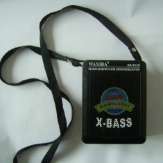 RADIO MP3, USB, AUXILIAR, SD, MMC, MODEL WAXIBA, NU FUNCTIONEAZA !