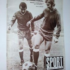 Revista SPORT Nr. 5 / 1971 Articol : Universitatea Craiova - Sportul Studentesc ( foto 2 )