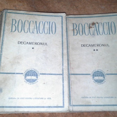 DECAMERONUL DE G. BOCCACCIO - Carte veche