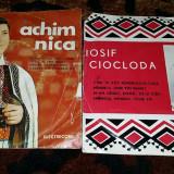 ACHIM NICA si IOSIF CIOCLODA-doua dicuri vinyl, 45 rotatii pe minut - Muzica Populara, VINIL