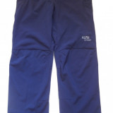 Pantaloni Softshell / Windstopper Alpin