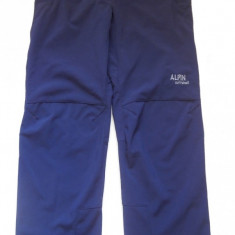 Pantaloni Softshell / Windstopper Alpin - Imbracaminte outdoor Alpin, Marime: XL