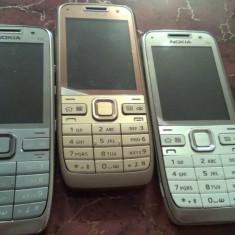 Telefon mobil Nokia E52, Gri, Neblocat
