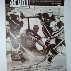 Revista SPORT Nr. 2 / 1973 Numar aniversar, dedicat tov. Nicolae Ceausescu 55 de ani .