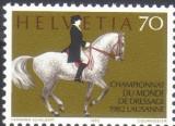 ELVETIA 1982, Fauna - Cai, serie neuzata, MNH, Nestampilat