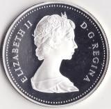 Moneda - Canada - 1 Dollar 1984 - Elisabeta a II-a - A 150-a aniversare a orasului Toronto - Proof - Argint - Rara - Tiraj 571079