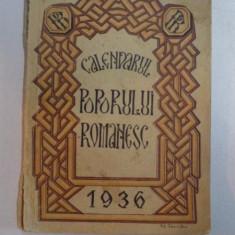 CALENDARUL POPORULUI ROMANESC 1936, ANUL AL IV LEA