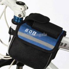 Port bagaj spatiu depozitare suport telefon borseta pentru bicicleta - Accesoriu Bicicleta, Borsete bicicleta